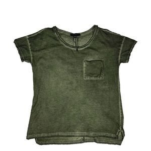 Sanctuary | Army Green Burnout Tee EUC
